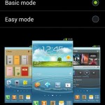 Homescreen modes