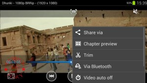 Video player options 1