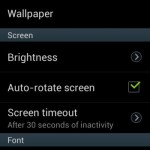Display settings_Samsung Galaxy Star Pro