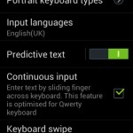 Keyboard settings_Samsung Galaxy Star Pro
