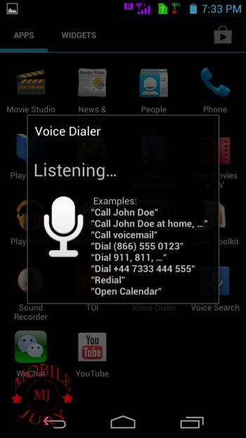 Voice Dialer App