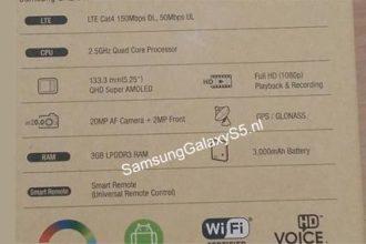 Samsung Galaxy S5 Box