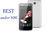 Best Phones under Rs 10000- March 2014