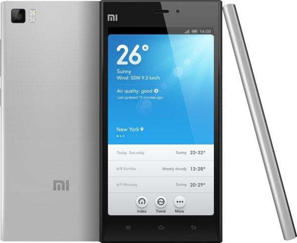 Xiaomi Mi3 Vs Moto G XT1068  2nd Gen  2014 Edition     Comparison    Xiaomi Mi3 Grey