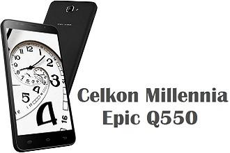 Celkon Millennia Epic Q550 ftr