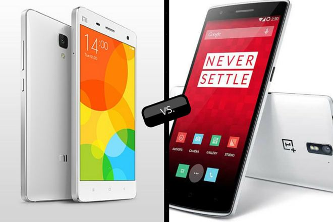 Mi 4 vs OnePlus One