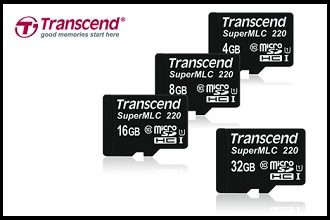 transcend superMLC microsd cards ftr